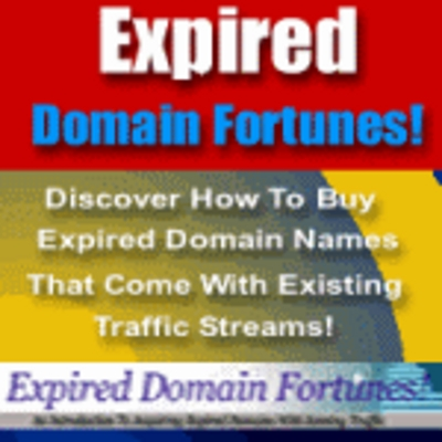 Product picture Expired Domain Fortunes - Millions of Hits